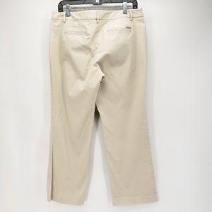 NY&Co | Straight Leg Slacks | Beige